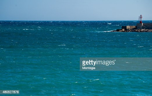 Otranto harbour : Stock Photo