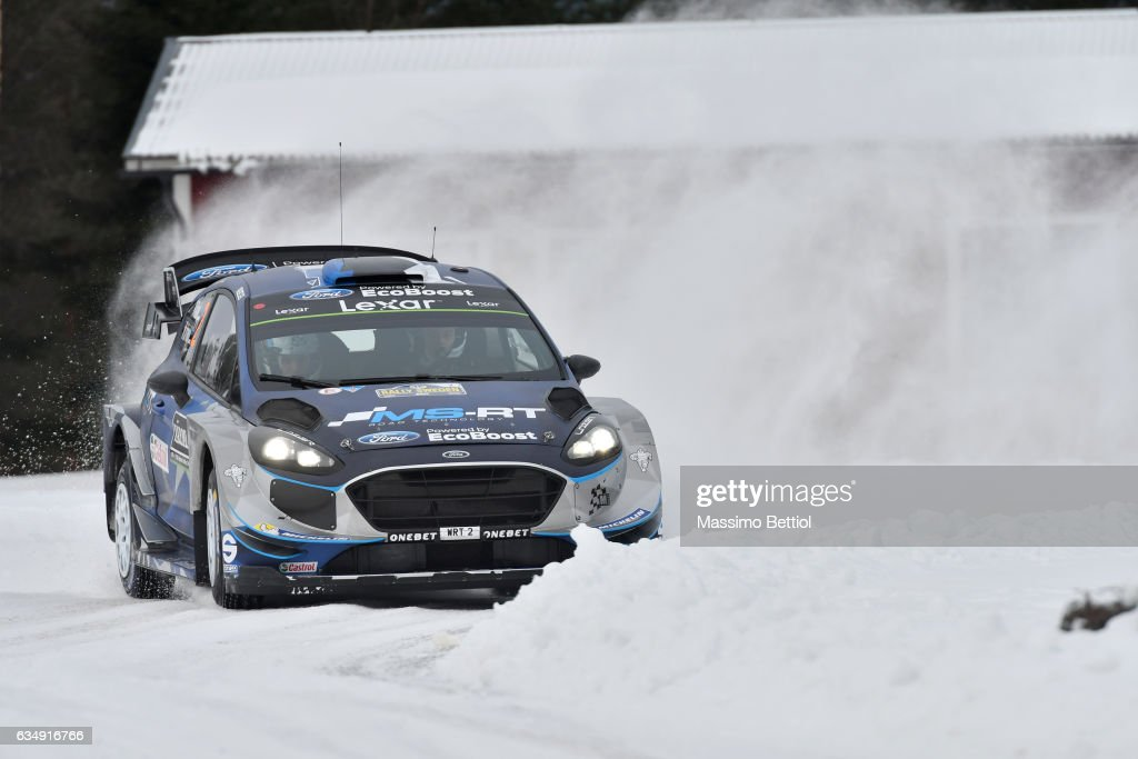 FIA World Rally Championship Sweden - Day Three