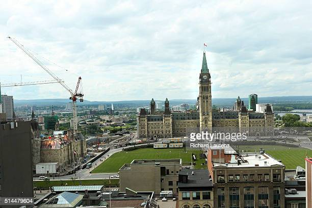 Ottawa Canada June 15 The buildings on Parliament Hill will be undergoing extensive renovations and repairs for decades to come West block is being...