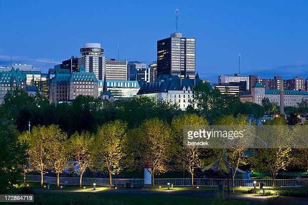 Ottawa, der Innenstadt, der Stadt