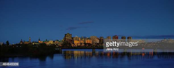 Ottawa skyline from Lemieux Island