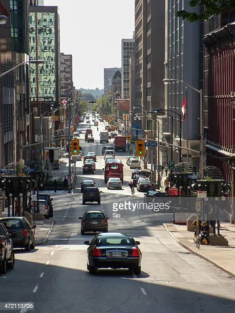 Ottawa Blick auf die Straße