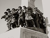 Ottawa's National War Monument.
