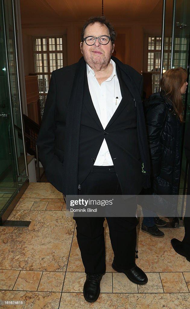 Ottfried Fischer attends Bavarian Representative Berlinale Reception at Bavarian Representation on February 14 2013 in Berlin Germany