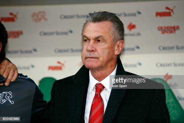 Ottmar HITZFELD Suisse / Lettonie Qualification Coupe du Monde 2010