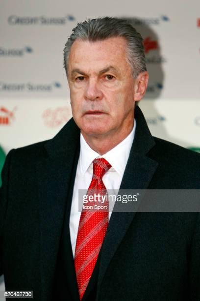Ottmar HITZFELD Suisse / Lettonie Qualification Coupe du Monde 2010
