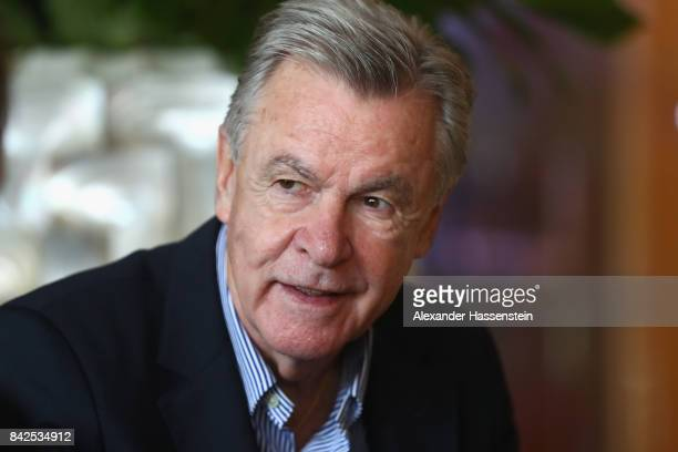 Ottmar Hitzfeld attends the Friends of the German National Team meeting at Steigenberger Graf Zeppelin Stuttgart on September 4 2017 in Stuttgart...