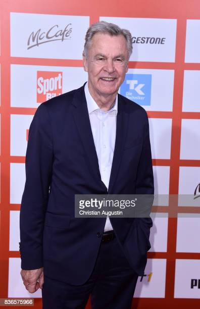 Ottmar Hitzfeld attends the Sport Bild Award at the Fischauktionshalle on August 21 2017 in Hamburg Germany