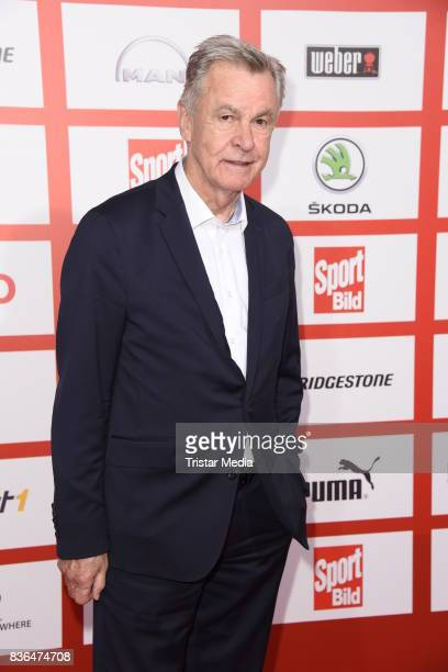 Ottmar Hitzfeld attends the Sport Bild Award on August 21 2017 in Hamburg Germany