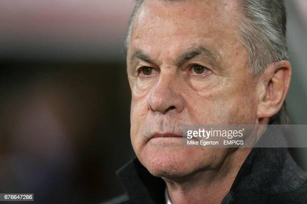 Ottmar Hitzfeld Switzerland's Head Coach
