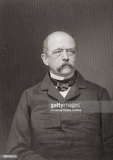 Otto Eduard Leopold Von Bismarck 1815 To 1898 PrussianGerman Statesman First Chancellor Of The German Empire From The Age We Live In A History Of The...