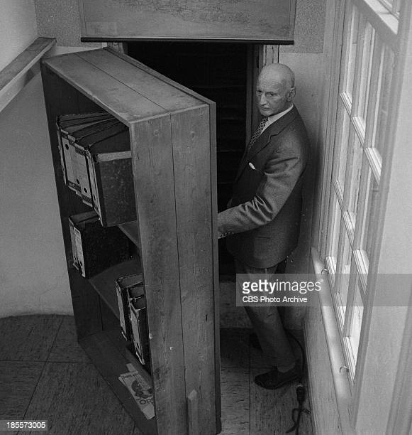 Otto Frank 75 yr old father of Anne Frank on THE TWENTIETH CENTURY Episode 'Who Killed Anne Frank' Image dated July 1964
