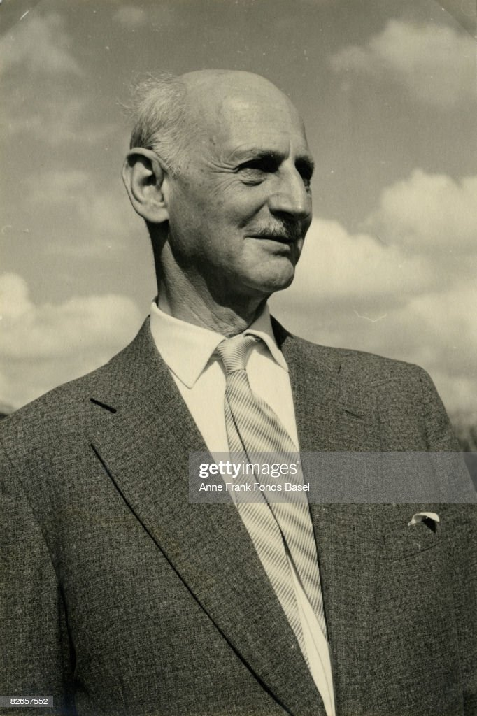 <a gi-track='captionPersonalityLinkClicked' href=/galleries/search?phrase=Otto+Frank&family=editorial&specificpeople=650673 ng-click='$event.stopPropagation()'>Otto Frank</a> (1889 - 1980), father of Anne Frank, circa 1965.