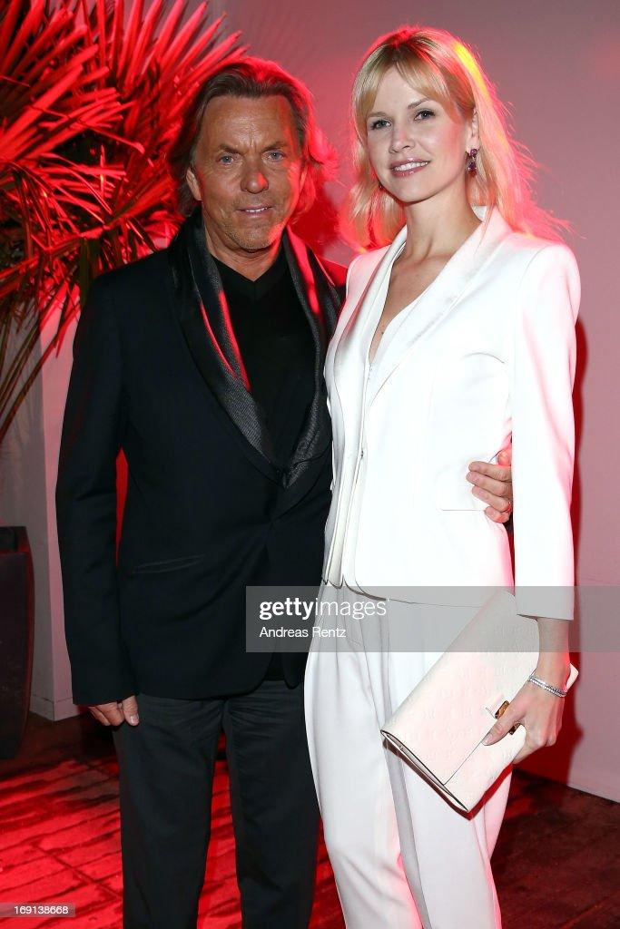 Otto Kern and Naomi Kern attend the German Films reception during the 66th Annual Cannes Film Festival at the Majestic Beach on May 20, 2013 in Cannes, France.
