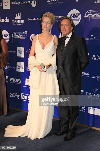 Otto Kern Ehefrau NaomiValeska Kern CharityVeranstaltung 17 'UnescoBenefizGala' 2009 Hotel 'Maritim' Düsseldorf NordrheinWestfalen Deutschland Europa...