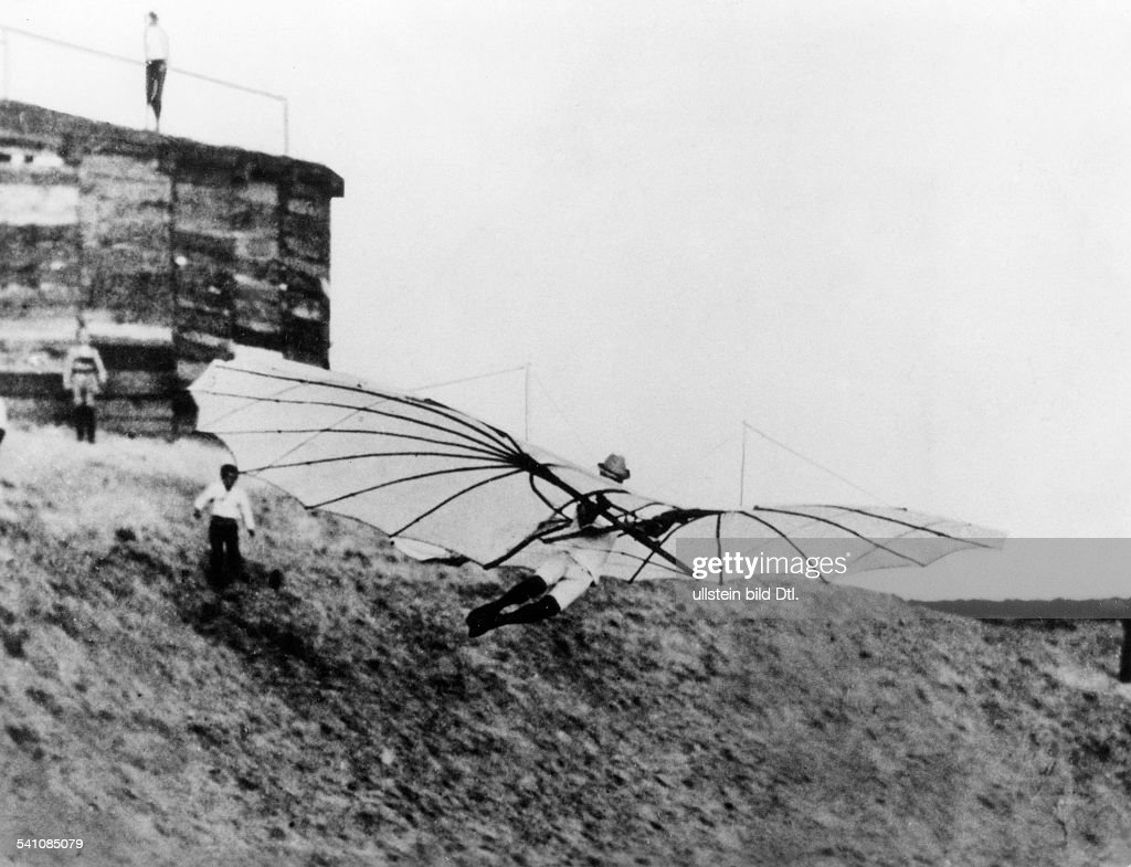 Otto lilienthal 23 05 1848 10 08 1896 pioneer of human aviation