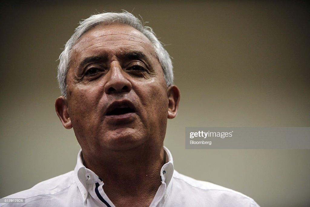 Guatemalan President Otto Perez Molina Court Appearance In Bribery Case