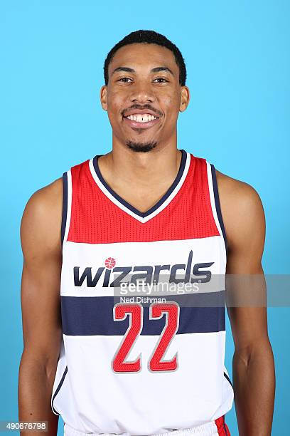 Otto Porter Jr #22 of the Washington Wizards poses for a photo during 2015 media day at the Verizon Center on May 18 2015 in Washington DC NOTE TO...