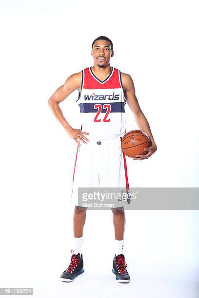Otto Porter Jr #22 of the Washington Wizards poses for a photo during media day on September 28 2015 at the Verizon Center in Washington DC NOTE TO...