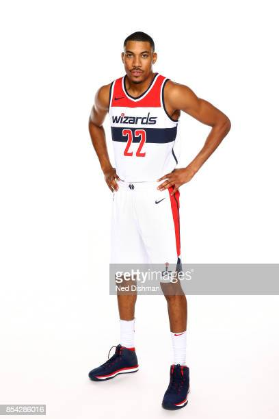 Otto Porter Jr #22 of the Washington Wizards poses for a portrait during Media Day on September 25 2017 at Capital One Center in Washington DC NOTE...