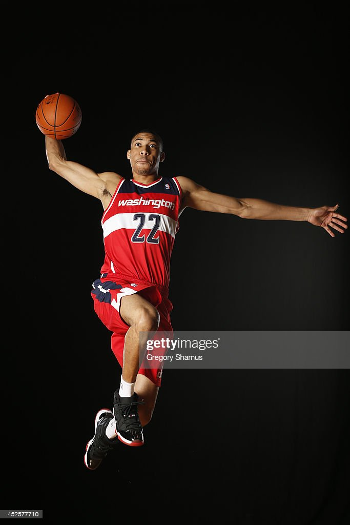 <a gi-track='captionPersonalityLinkClicked' href=/galleries/search?phrase=Otto+Porter+Jr.&family=editorial&specificpeople=10019906 ng-click='$event.stopPropagation()'>Otto Porter Jr.</a> #22 of the Washington Wizards poses for a portrait during the 2013 NBA rookie photo shoot on August 6, 2013 at the Madison Square Garden Training Facility in Tarrytown, New York.