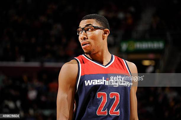 Otto Porter Jr #22 of the Washington Wizardsduring the game against the Cleveland Cavaliers on November 26 2014 at Quicken Loans Arena in Cleveland...