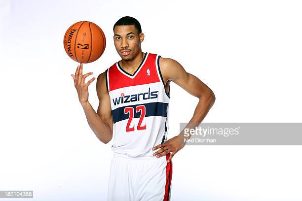 Otto Porter Jr of the Washington Wizards poses for a portrait during 2013 NBA Media Day at the Verizon Center on September 27 2013 in Washington DC...
