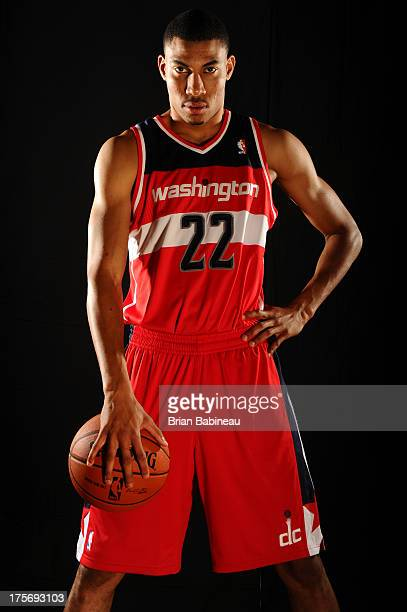 Otto Porter of the Washington Wizards poses for a portrait during the 2013 NBA rookie photo shoot on August 6 2013 at the Madison Square Garden...