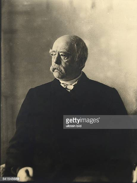 ' Otto von Bismarck *0104181530061898 German politician18621890 prime minister of Prussia18711890 German Imperial Chancellor Portrait at old age no...