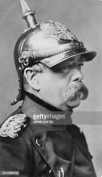 Otto von Bismarck German politician18621890 prime minister of Prussia18711890 German Imperial Chancellor