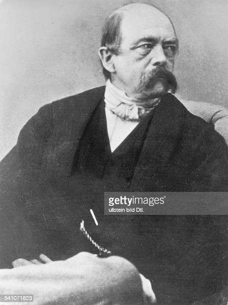 Otto von Bismarck German politicianPicture taken around 1866