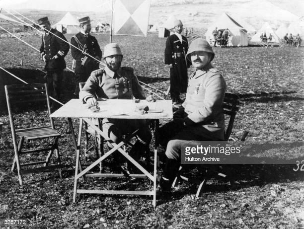 Ottoman colonial administrator Jamal Pasha in Palestine circa 1916