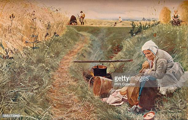 Our Daily Bread' 1886 From The Studio Volume 53 Artist Anders Leonard Zorn