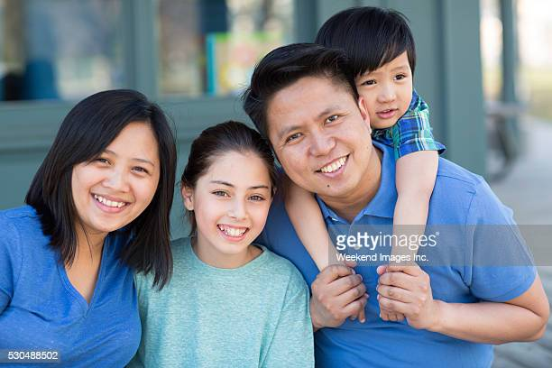A nossa família feliz