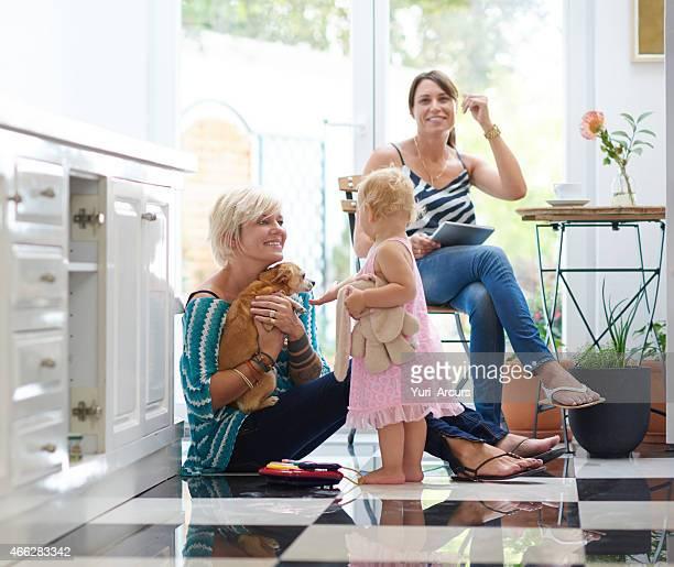 A nossa pequena família moderna