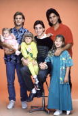 HOUSE 'Our Very First Show' Pilot Season One Cast gallery 9/22/87 Bob Saget played widower Danny Tanner the father of three girls from left Michelle...