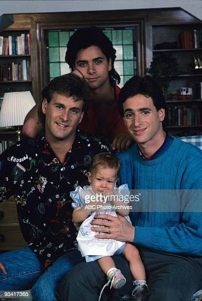 HOUSE 'Our Very First Show' Pilot Season One Gallery 9/22/87 Bob Saget played widower Danny Tanner the father of three girls Michelle DJ and...