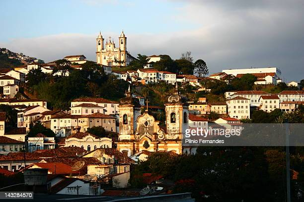 Ouro Preto End of Afternoon 2 Churches