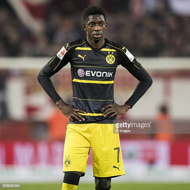 Ousmane Dembele of Borussia Dortmundduring the Bundesliga match between 1 FC Koln and Borussia Dortmund on December 10 2016 at the RheinEnergie...