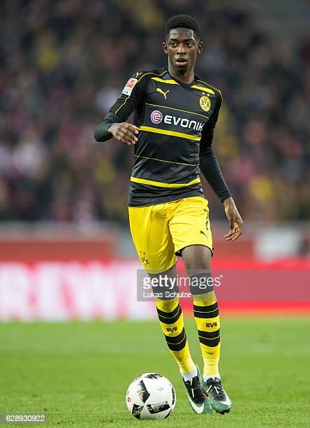 Ousmane Dembele of Dortmund in action during the Bundesliga match between 1 FC Koeln and Borussia Dortmund at RheinEnergieStadion on December 10 2016...