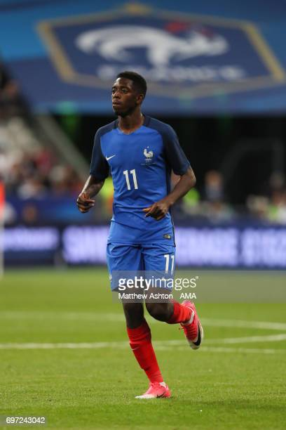 Ousmane Dembele of France during the International Friendly between France and England on June 13 2017 in Paris France