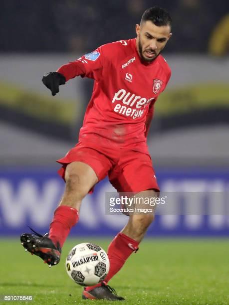 Oussama Assaidi of FC Twente during the Dutch Eredivisie match between NAC Breda v Fc Twente at the Rat Verlegh Stadium on December 12 2017 in Breda...