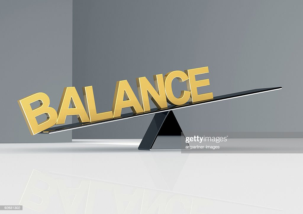 Out of Balance in Business : Stock Photo