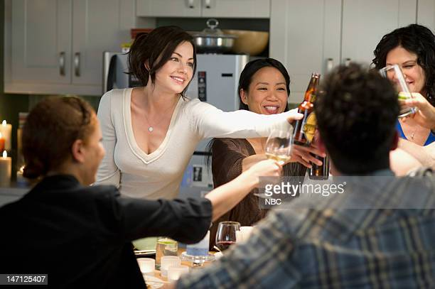HOPE 'Out of Sight' Episode 105 Pictured Erica Durance as Alex Reid Pauline Wong as Nurse Pauline Wendy Crewson as Dana Kinny