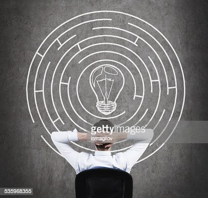 out of the maze : Stock Photo