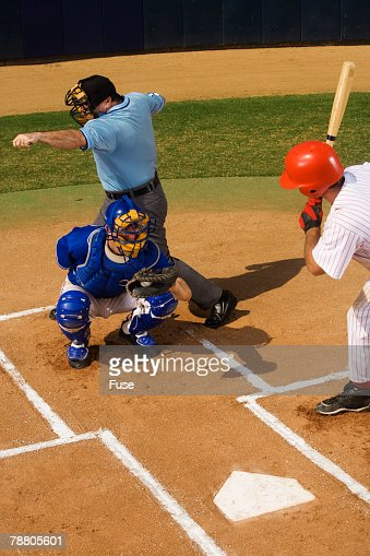 Baseball Strike Stock Photos And Pictures Getty Images