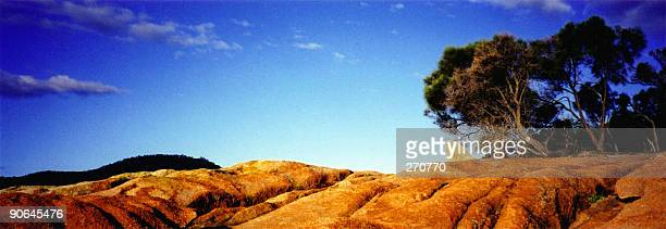 Outback Australia Red Rock Landscape Panorama