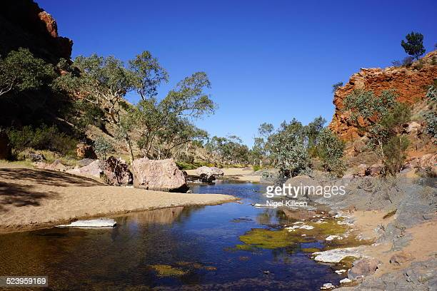 Outback watering hole, West Macdonnell Ntl Park