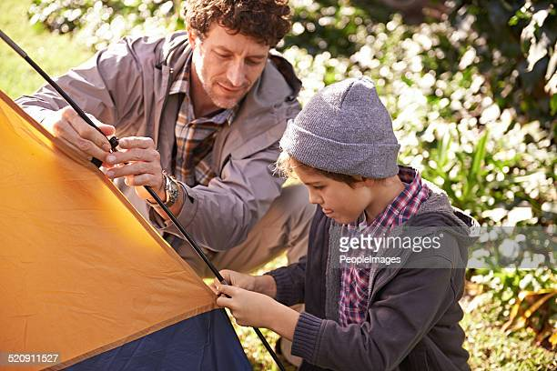 Outdoor-Abenteuer mit Papa