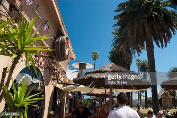 Outdoor bar in St Kilda